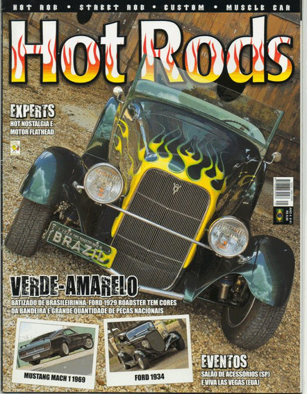 Hot Rods Nº41 Ford Roadster 1929 1934 Mustang Mach I 1969
