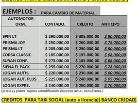 Licencia Para Taxi Capital Federal Okm. Usados.taxis Renovar