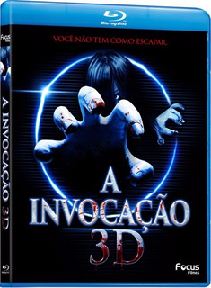 Blu Ray A Invocação 3d - Você Não Pode Escapar