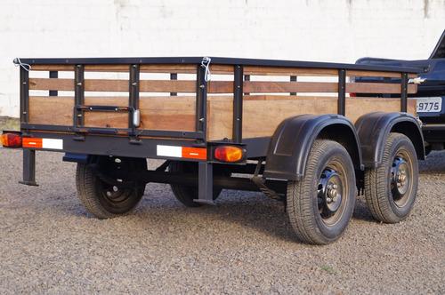 Carreta Reboque Fazendinha 1200kg - Basculante Zero Km