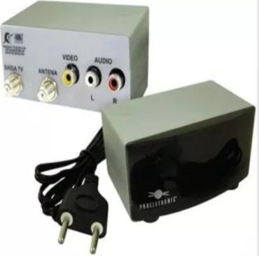 Mini Modulador Rf Proeletronic Pqmo-2200 Rca X Rf Sky Câmera