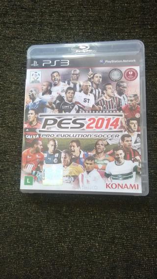 Pes 2014 Pro Evolution Soccer Semi Novo Original Ps3