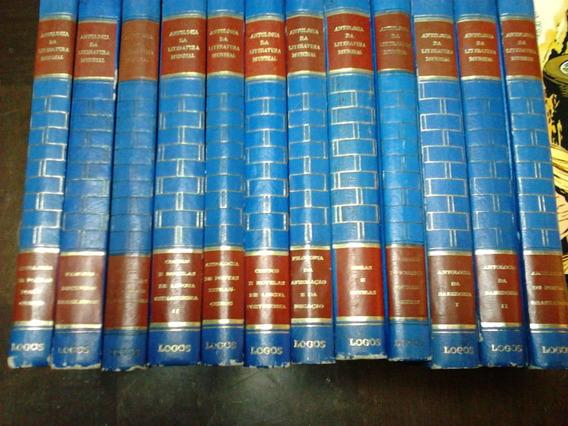 Antologia Da Literatura Mundial - 12 Vol Completa - Ed Logos