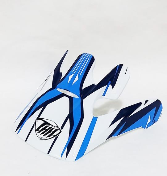 Pala Aba Visor Capacete Thh Tx10 Azul Motocross Trilha