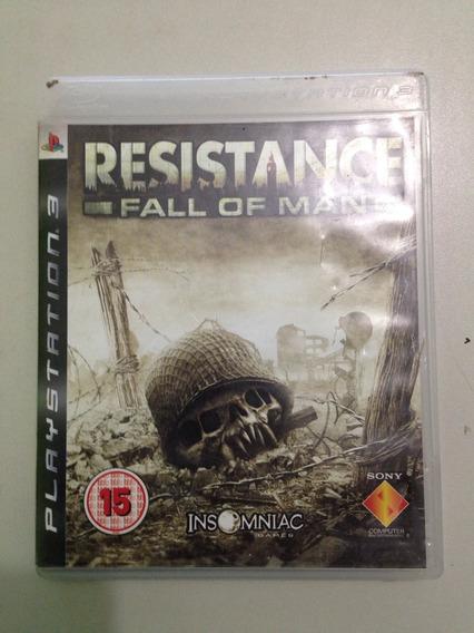 Jogos Originais Ps3 Resistence 1 E 2 Apenas 55,00 Cada!