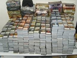 Lote De 501 Cartas De Magic 1mit/25 Rar/100 Inc/375 Comuns