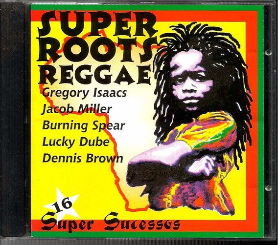 Cd Super Roots Reggae 16 Sucessos Gregory Jacob Lucky 1998