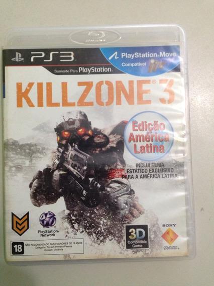 Jogo Original Ps3 Killzone 3 Apenas 59,00