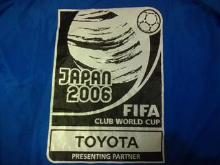 Jaqueta Mundial Interclubes 2006 Internacional X Barcelona