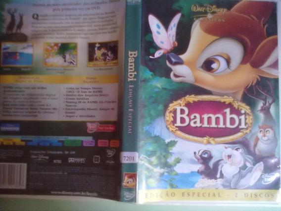 Bambi Da Disney - Dvd Duplo - Frete Gratis