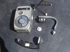 Filmadora Yashica 8mm A Corda Completa Com Caixa Original