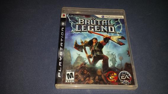 Brutal Legend Original Playstation 3 Game Jogo