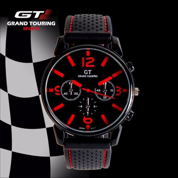 Relogio Masculino Gt Speed Racer Importado Presente Namorado