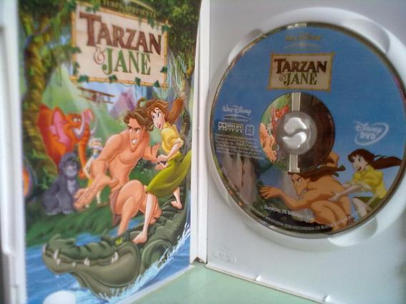 Dvd Original Tarzan & Jane - Disney