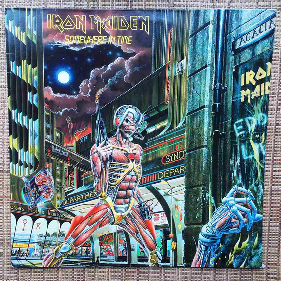 Lp Iron Maiden - Somewhere In Time
