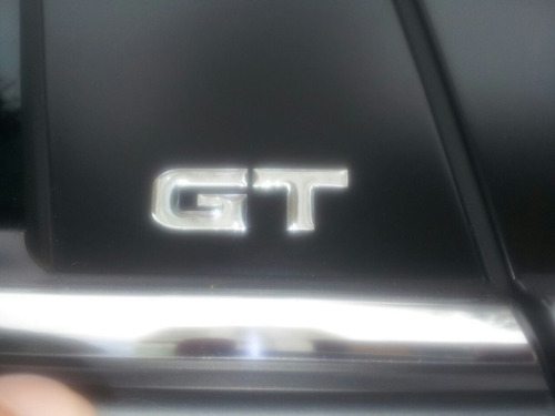 Emblema Gt Para Lancer Gt Coluna De Portas