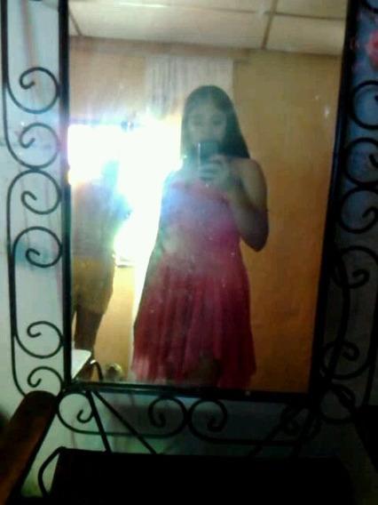 Vestido Corto De Fiesta Usado