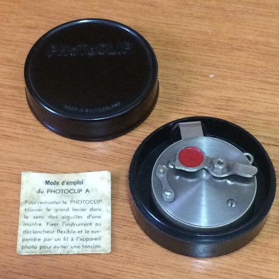 Antigo Disparador Suíço Mecanico Maquina Fotográfica Reflex