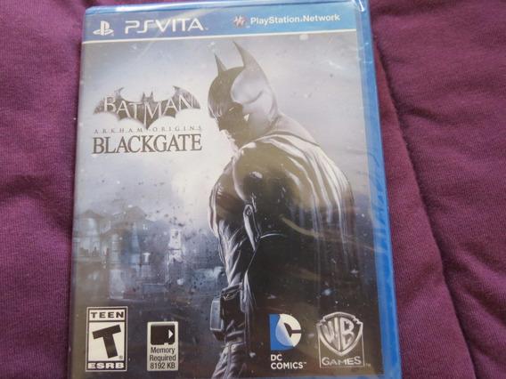 Batman Arkham Origins Blackgate Psp Vita Playstation Sony