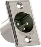 Conector Xlr 3p Macho D3m Switchkraft