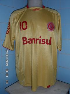 Camisa Do Internacional Dourada N#10