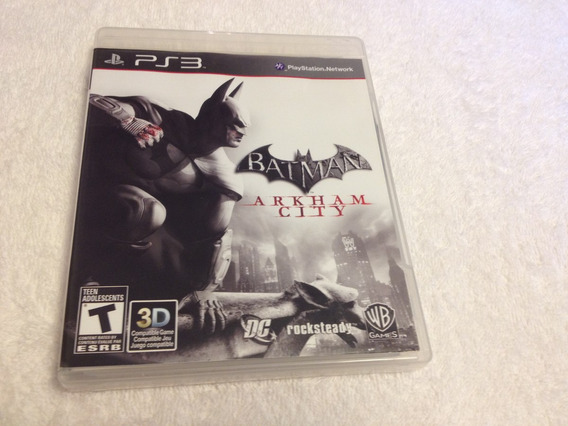 Batman Arkham City Compatível Com 3d