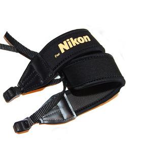 Alça Neoprene Nikon Preta - Super Macia