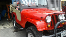 Jeep Willys Ford 4x4 76/76 4cil. Conversivel