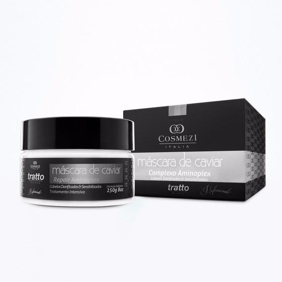 Máscara Cabelos Danificados | Tratto Caviar & Aminoplex 250g