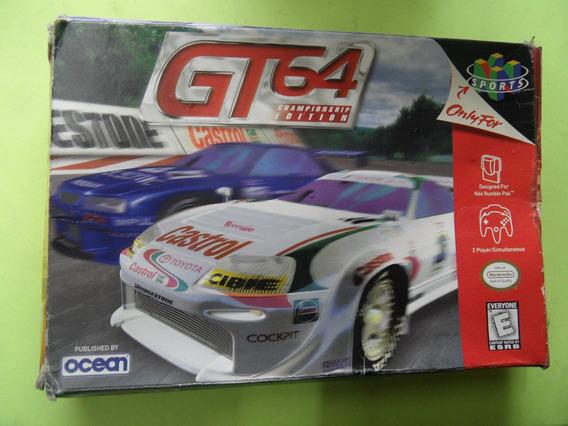 Gt 64 Championship Edition Original Nintendo 64 N64 Caixa