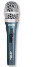 Microfone Csr Dinâmico Super Cardioide Dm58 Cabo Bolsa Sup
