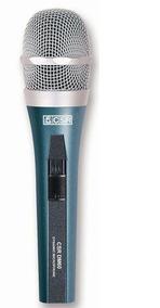 Microfone Csr Dinâmico Super Cardióide Dm60 Cabo Bolsa Supor