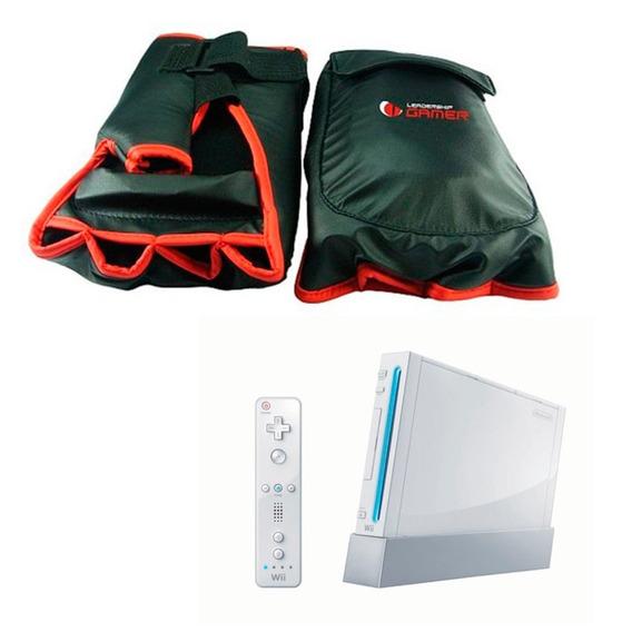 Luvas Box Nintendo Wii Leadership Wii Sports Resorts Boxeado