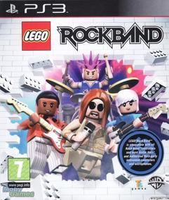 Jogo Ps3 Play 3 Rockband Lego - Novo - Lacrado