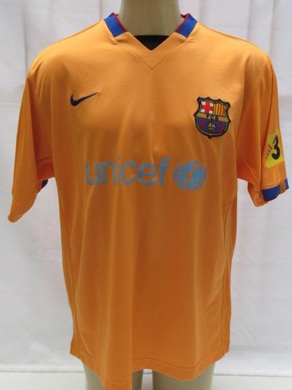 Camisa De Futebol Do Barcelona Da Espanha #11 Zambrotta - M