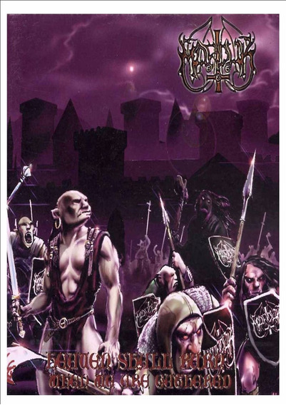 Backpatch Marduk - Heaven Shall Burn... When We Are Gathered