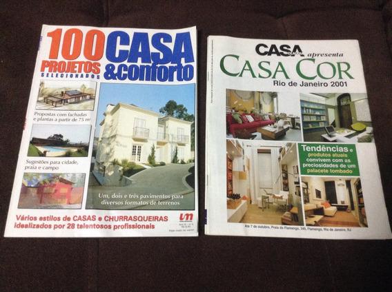 Lote De 8 Revistas Arquitetura E Construção-ótimo Estado