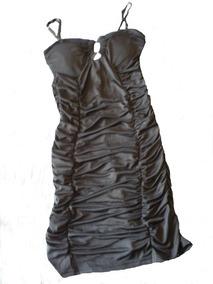 Vestido Fiesta Negro Ajustado ... Talla M