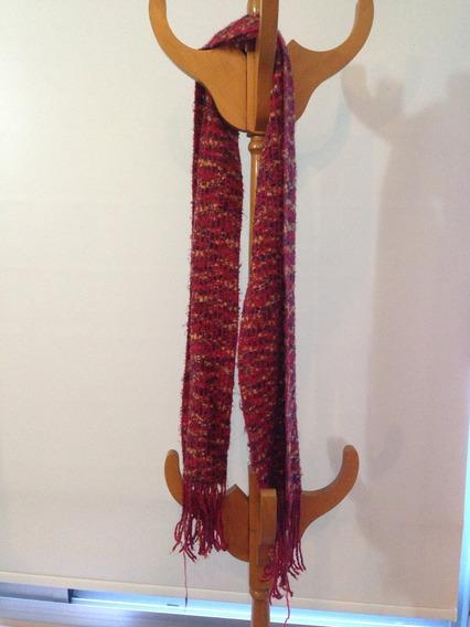 Bufanda Roja Y Colores Oferta