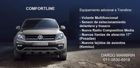 Vw Volkswagen Amarok 2.0tdi Comfortline 4x4 C/d Automática