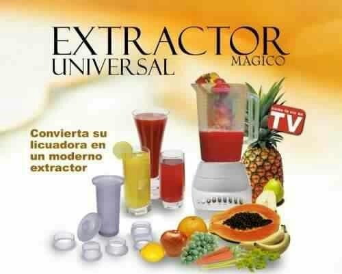 Magic Filter Extractor Accesorio Jugos Saludables Naturales