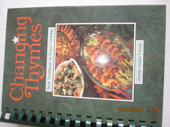 Livro De Culinária: Changing Thymes