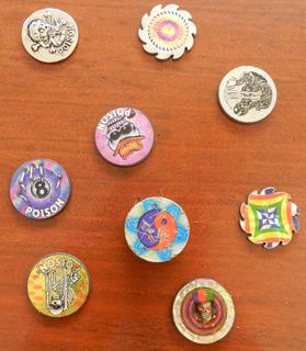 Colección Tazos De Acero