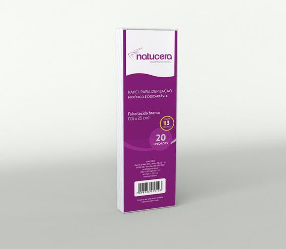 Natucera Papel Dep. 7,5x25cm 20 Folhas