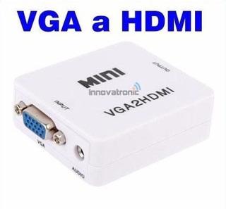 Convertidor De Vga A Hdmi Con Audio - 1080p Ful Hd