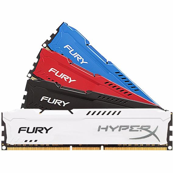 Memoria Kingston Hyperx Fury 8gb Ddr3 1600 Mhz Envio