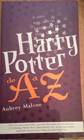 Livro Harry Potter De A A Z