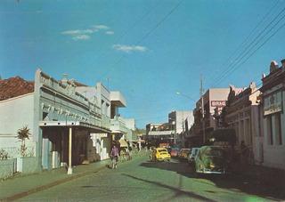 Sta-7811- Postal Santo Antonio De Padua, R J- Rua Dos Leites