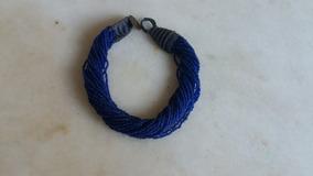 Lindo Colar Azul Marinho
