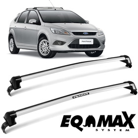 Rack De Teto Bagageiro Focus Hatch/sedan 11 A 13 Prata 6216